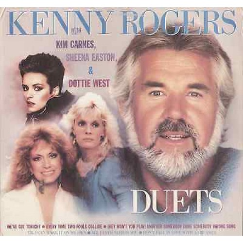 KENNY ROGERS DUETS - LP
