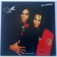 milli vanilli all or nothing records, lps, vinyl and cds
