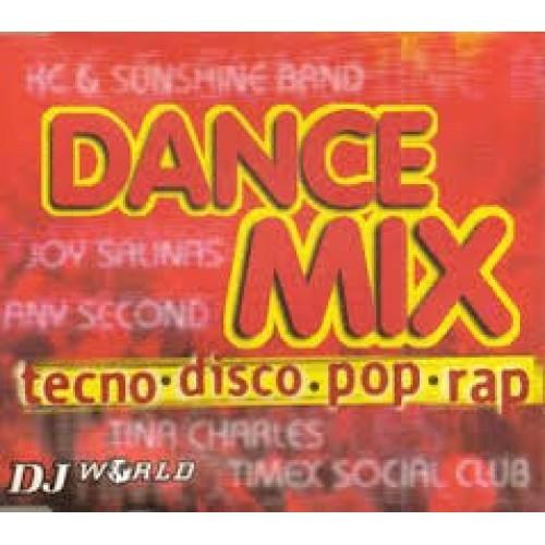 DANCE MIX - TECNO DISCO POP RAP - USED CD