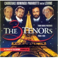 THE 3 TENORS IN PARIS CARRERRAS DOMINGO PAVAROTTI WITH LEVINE