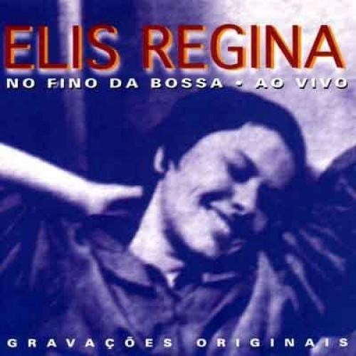 ELIS REGINA NO FINO DA BOSSA AO VIVO - USED CD
