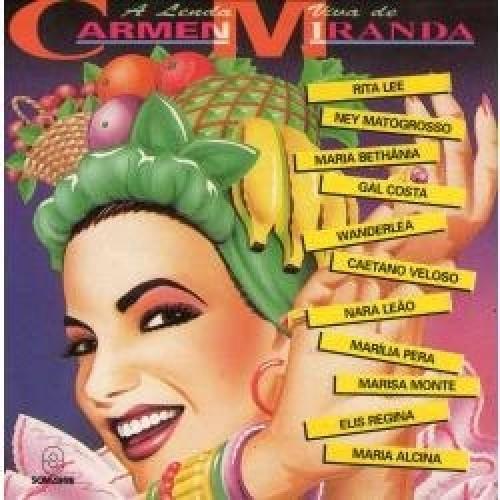 A LENDA VIVA DE CARMEM MIRANDA - LP