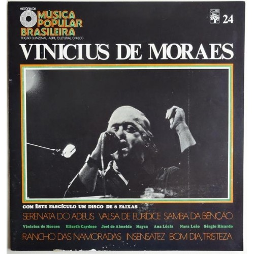 HISTORIA DA MUSICA POPULAR BRASILEIRA VINICIUS DE MORAES - 10 INCH