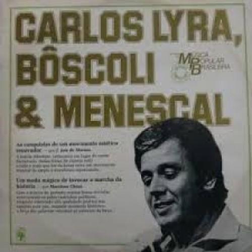 HISTORIA DA MUSICA POPULAR BRASILEIRA CARLOS LYRA BOSCOLI E MENESCAL - LP
