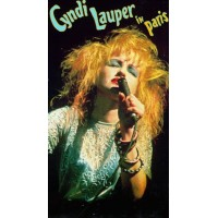 CYNDI LAUPER IN PARIS