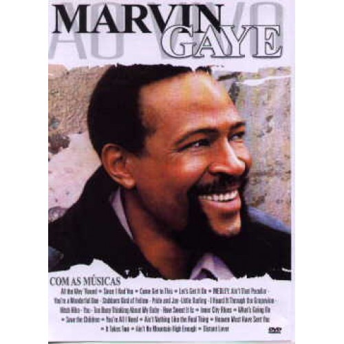 MARVIN GAYE / LIVE 1976 HOLAND - DVD USED