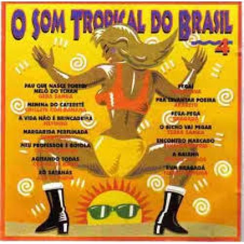 O SOM TROPICAL DO BRASIL 4 - 1996 - LP